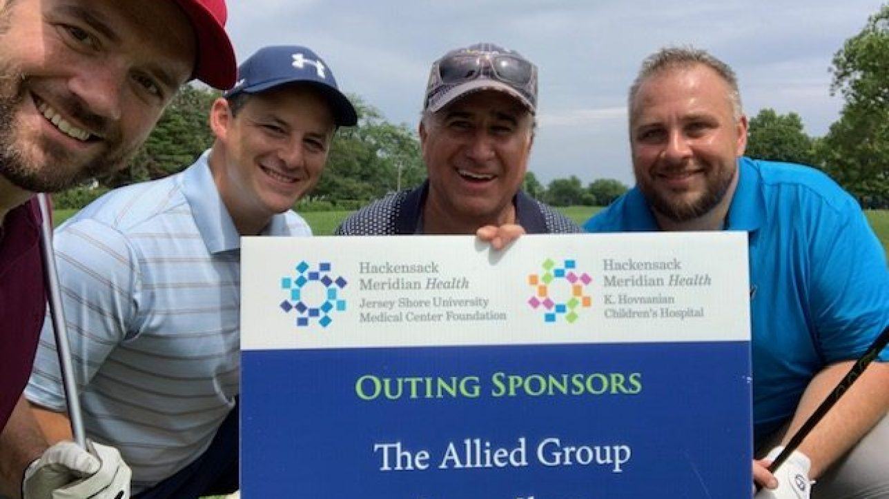 The Allied Group sponsoring the 36th Annual Jersey Shore University Medical Center Foundation Golf Outing